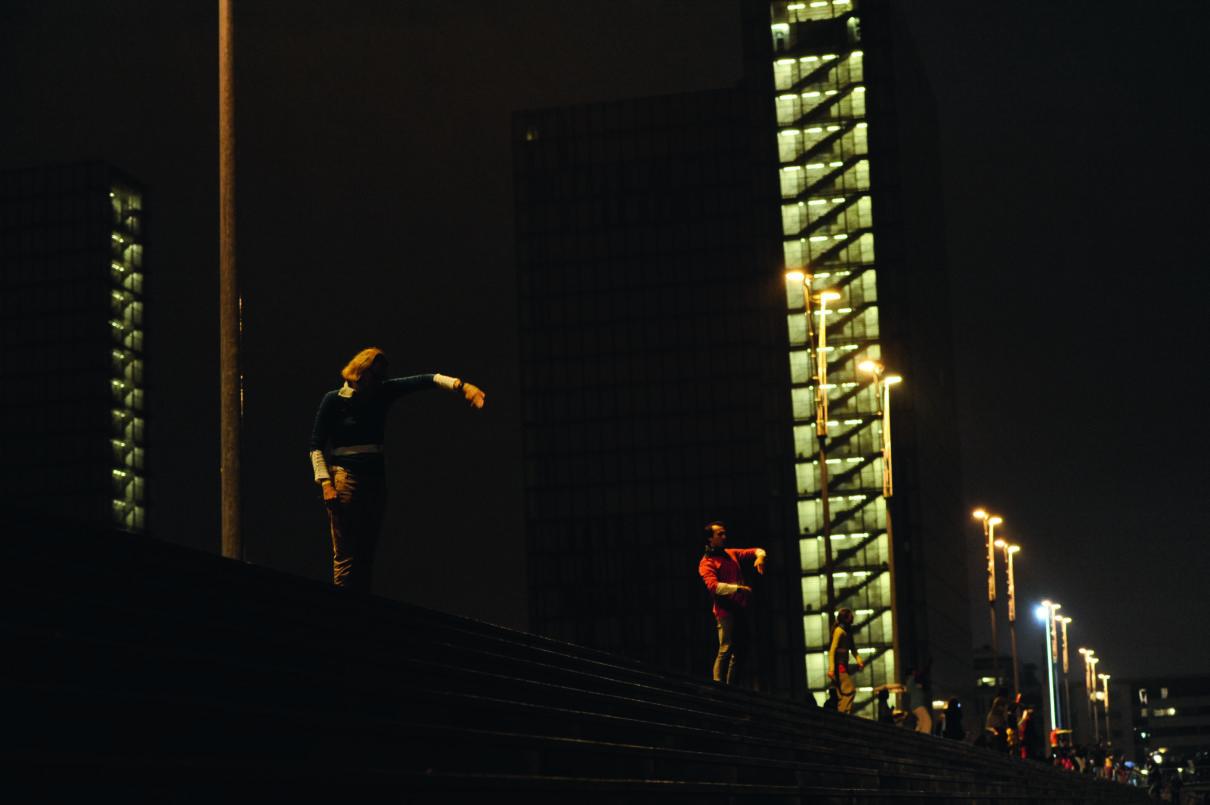 Paris à l'infini (la danse), Pascal Baneux